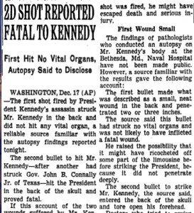 NYT autopsy story