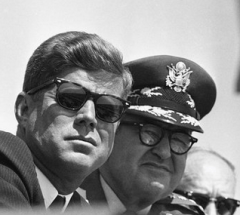 JFK and Curtis LeMay