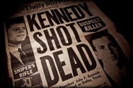 JFK shot headline