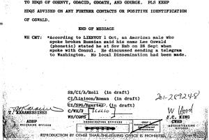 CIA Oswald cable