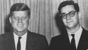 Mark Lane with JFK