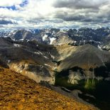 View of the North Fork of the Elbow.  I can't wait to visit those remote tarns!