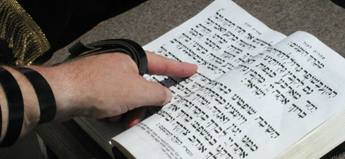 A Siddur is a prayer book.
