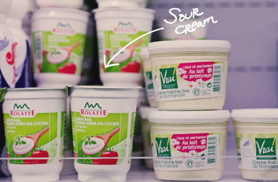 24 May 2013 - sour cream