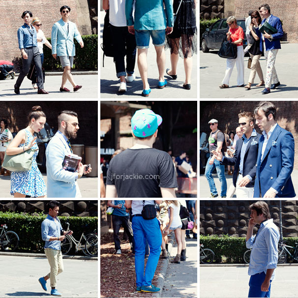 20 June 2013 - pittiuomo 84 streetwear blues