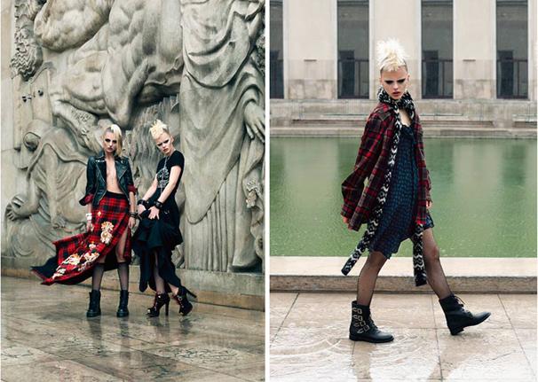 luisaviaroma punk couture
