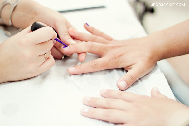 06 July 2013 - manicure in Florence