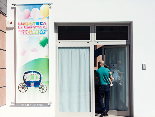 03 August 2013 - Ludoteca Free Playroom in Italy