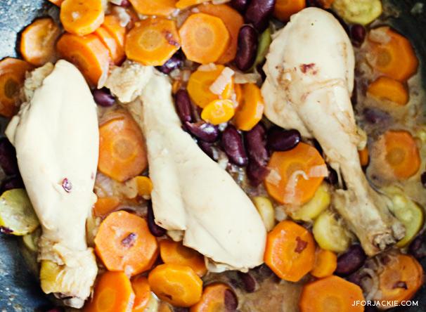 06 August 2013 - Chicken vegetable stir-fry