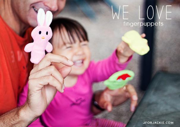 Animal Fingerpuppets