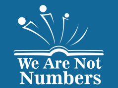 logo for We Are Not Numbers