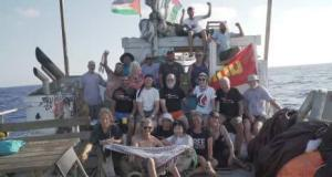 AL Awda participants approaching Gaza