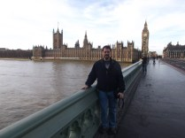 John did some sightseeing in London on his trip to L'Abri