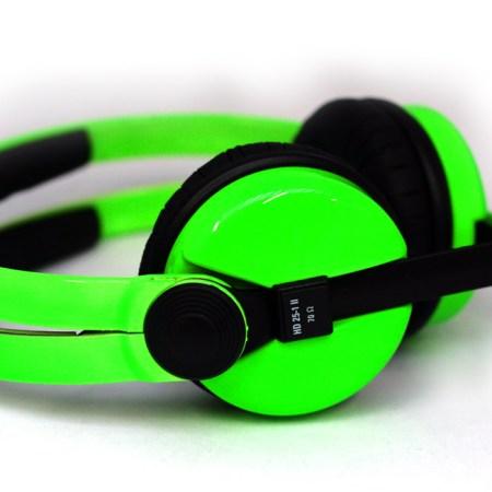 UV Green Sennheiser HD25