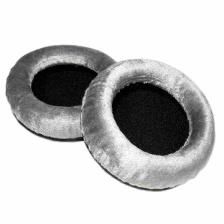Official Beyerdynamic Grey Velour Replacement Ear Pads for DT 990 DT990 – 926679 (foam inserts included)