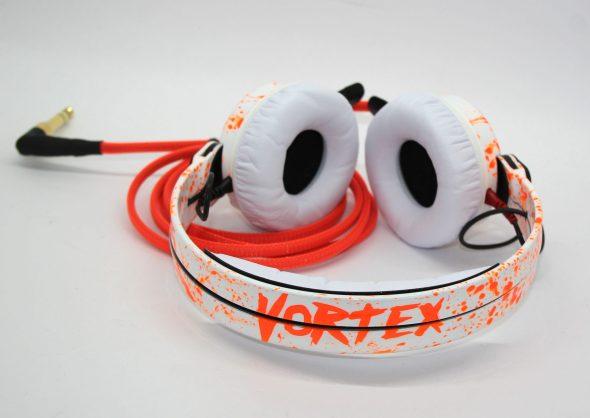Customise splatter pattern Sennheiser HD25 DJ Headphones with your name -0