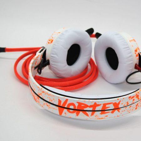Customise splatter pattern Sennheiser HD25 DJ Headphones with your name
