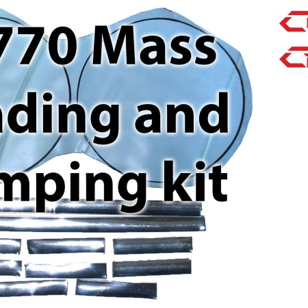 Custom Cans Mass Loading & Damping Kit for DT770 and Custom one pro-0