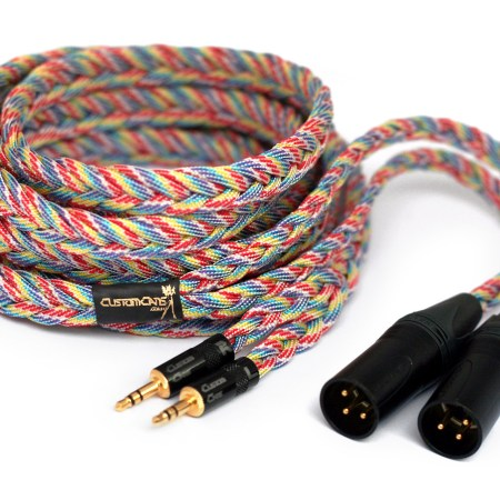 Ultra-low capacitance balanced XLR cable for PonoPlayer / Sony PHA-3