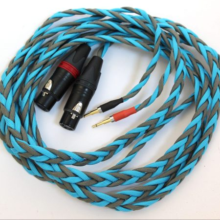 Ultra-low capacitance cable for headphones that take extended 2.5mm jacks (Sennheiser HD700, Oppo PM-1 / PM-2, Audioquest NightHawk, HiFiMan HE-1000 and more)