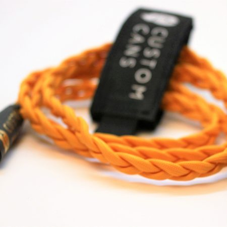 Ultra-low capacitance litz cable with single 3-pin mini XLR for Beyerdynamic DT1770 and DT1990, AKG K702 / 712