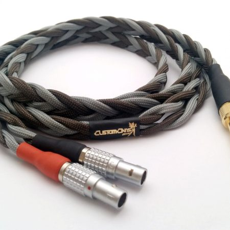 Ultra-low capacitance cable for Focal Utopia – 2 pin LEMO connectors