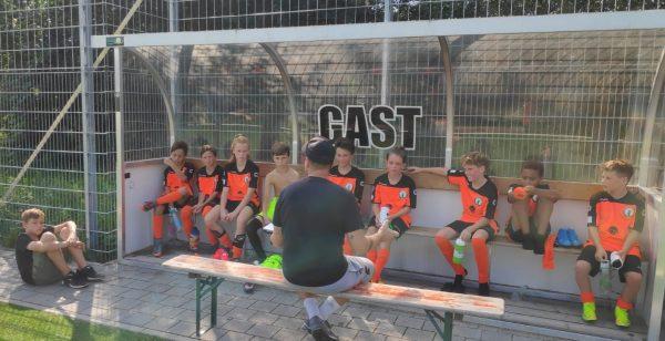 Spielbericht Testspiel D1 in Wittlingen D1