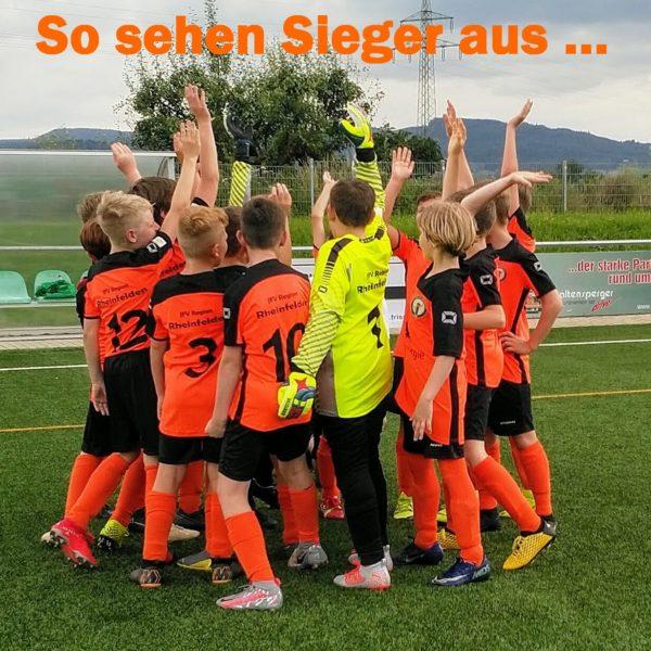 6:0 Testspielsieg unserer D2 gegen des FSV Rheinfelden