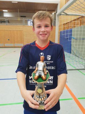 Lennart Stamm vom SSV Ettlingen