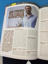 Foto Revista El Clavo - Entrevista a JFZ