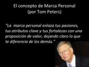 El concepto de Marca Personal, por Tom Peters