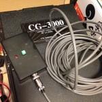 週末の作業(CG-3000リセットスイッチ)