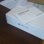 iPhone 6が到着!