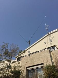 給電部(ATU)が屋根レベルまで上がった