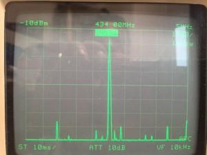433MHz スプリアス