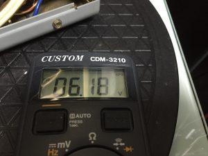 電源のケミコン交換で電圧は安定