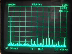 0〜1GHz 高調波特性