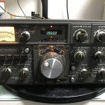 JST-245 作業終了 / TS-820 トラッキング 【2017/03/28】