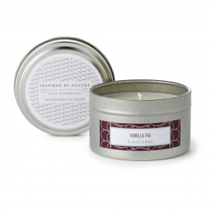 Vanilla Fig Travel Candle Tin