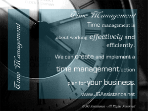 Time Management Services