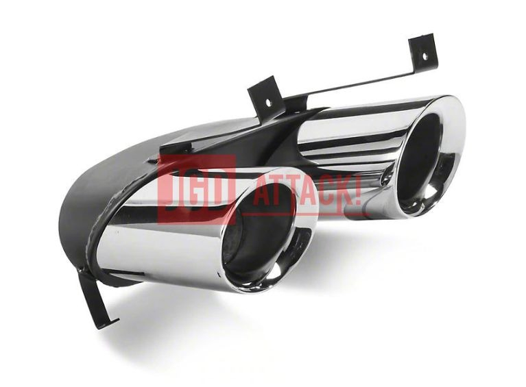 quad exhaust tips for mp concepts gt350 style rear diffuser mustang 15 17 gt premium ecoboost premium