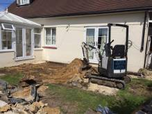 excavation and levelling
