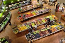 Indemnización por caída en supermercado