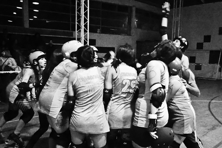 [Fotografía] Roller Derby Santiago 2012: Hot Chili vs/ Anfetamina Roller Girls (6/6)