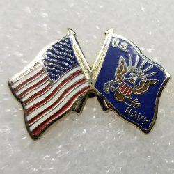 US Navy Flag Pin