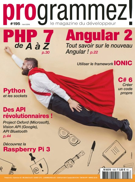 Published in Programmez 195 (April 2016)