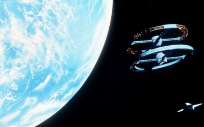 Scene from 2001 A Space Odyssey (Turner Entertainement)