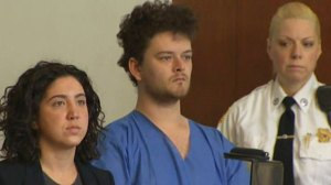Kevin Edson at his arraignment at Boston Municipal Court (WBZ-TV)