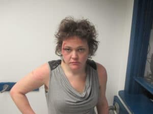 KATIE GAGNE, AGE 29, of NASHUA, N.H. (Tyngsborough Police Department Booking Photo)
