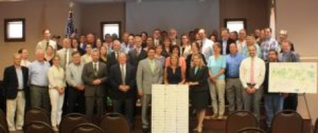 On July 8, Lieutenant Governor Karyn Polito, Energy and Environmental Affairs (EEA) Secretary Matthew Beaton, and Department of Energy Resources (DOER) Commissioner Judith Judson announced nearly $8.9 million in grants to fund clean energy projects in 51 communities across the Commonwealth. (Courtesy photo)